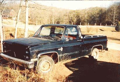 The Deer Slayer -- 1981 Chevy C-10 Silverado Pick-Up
