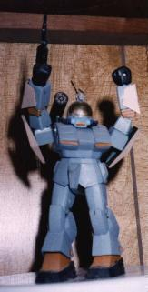 Guiles Thornby in the Battle Suit